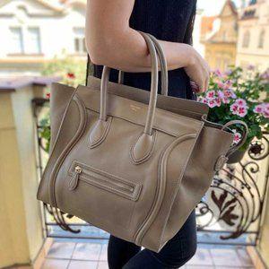Authentic CELINE LUGAGE  BAG